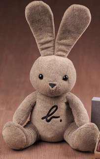 Agnes b Rabbit 23吋大兔(灰色/啡色)