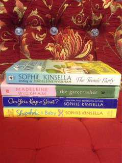 [CLEARANCE] SOPHIE KINSELLA/MADELEINE WICKHAM Book Set