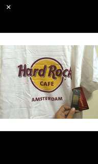 Hard Rock Cafe Amsterdam White Tshirt