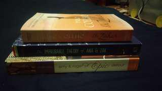 3 books for SALE