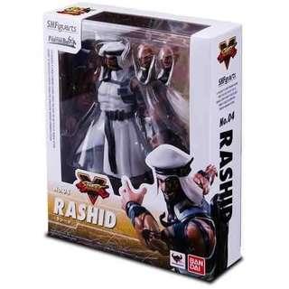 SHF S.H.Figuarts Rashid Street Fighter