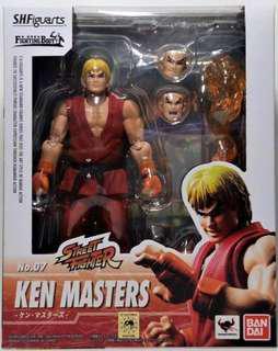 SHF S.H.Figuarts Ken Masters Street Fighter