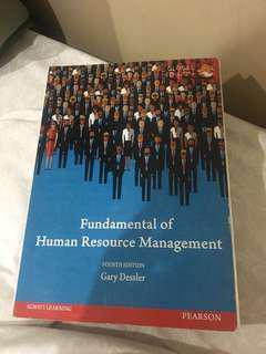 fundamental of human resource management