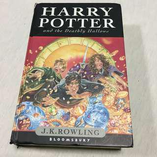Harry Potter And The Deathly Hallows -FIRST EDITION