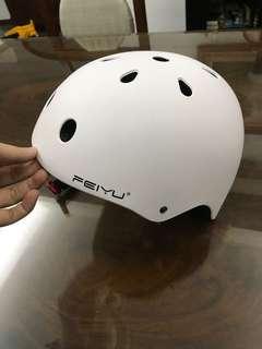 White helmet children