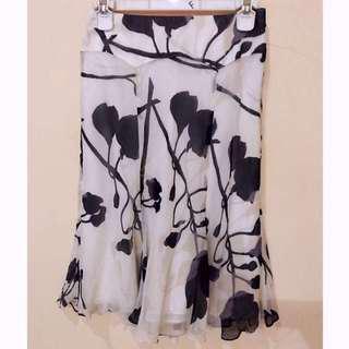 #MauiPhoneX rok bunga hitam putih