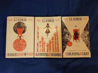 Shades of Magic series by V.E. Schwab