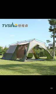 10-12 man camping tent