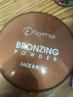 flormar bronzing powder face and beauty