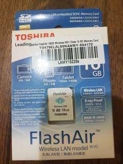 Toshiba Flash Air 16GB Wireless Memory Card