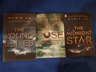 The Rose Society & Midnight Star (young elites series 2 & 3) by Marie Lu
