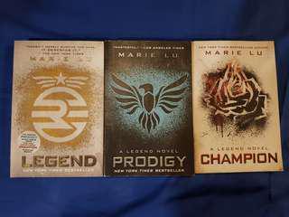 Legend series by Marie Lu