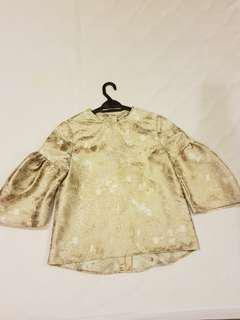 Arared Brocade Top