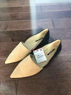 Zara Basic Two-Toned Flats