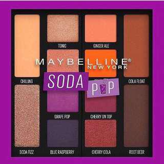 Maybelline Soda Pop palette