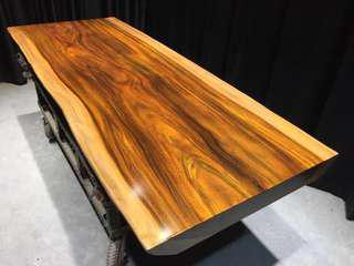 south Africa walnut wood gabon wood dining table customize