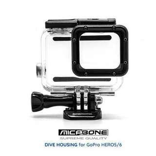 Micabone Dive Housing For GoPro Hero 5 Black dan GoPro Hero 6