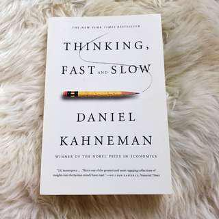 *NEW* Thinking, Fast & Slow