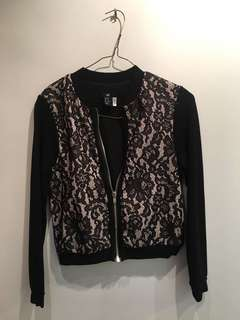 Lace Style Light Jacket