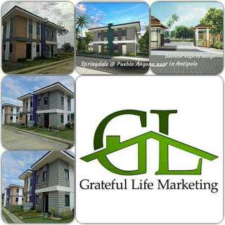SPRINGDALE II @ PUEBLO ANGONO HOUSE AND LOT FOR SALE