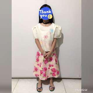 Filipiniana Maria Clara Baro't Saya Dress for Buwan ng Wika