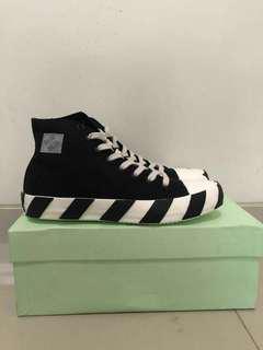 Off-White stripe high sneaker