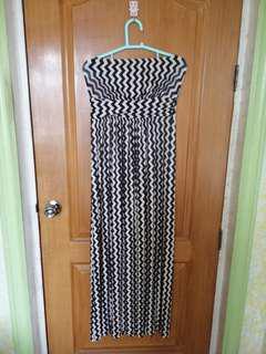 Zaful printed maxi dress