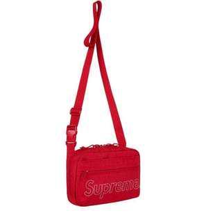 1 x Supreme FW18 Shoulder Bag Red