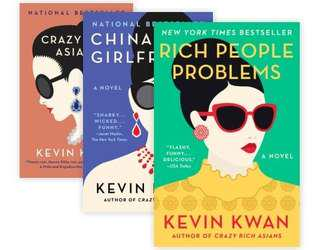 Ebook - Crazy Rich Asians Trilogy By Kevin Kwan