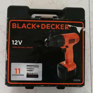Black+Decker Drill