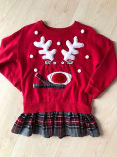 Next Christmas jumper 4-5YO