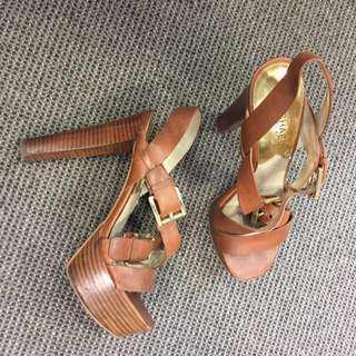 Michael Kors Sandal Heels Size 6