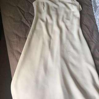 United colors of benetton creamy dress #summerwhites