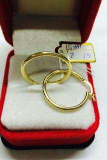 18k GOld Earring from Saudi