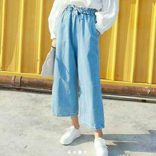 Korean ulzzang high waisted oversized mom jeans