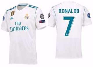 Ronaldo Real Madrid Jersey 2017/18