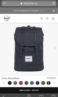 Retreat Hershel Bag