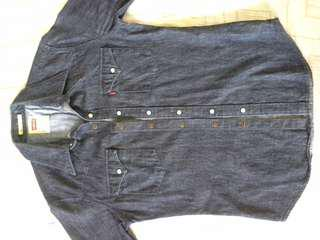 Levis slim fit denim shirt
