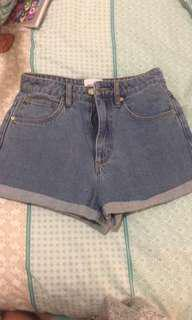 A Brand Jean shorts