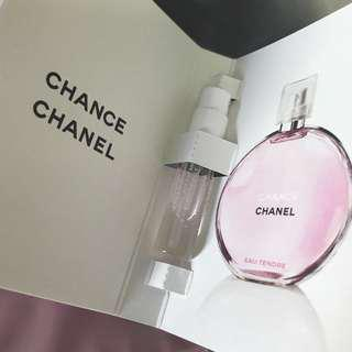 Chanel Chance Perfume - makeup pouch friendly!