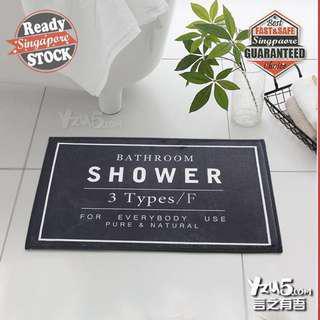 🚚 Indoor Anti-Slip Floor Mat Bath Carpet Shower Pad Nordic Rug