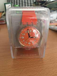 Swatch 手錶 watch orange color