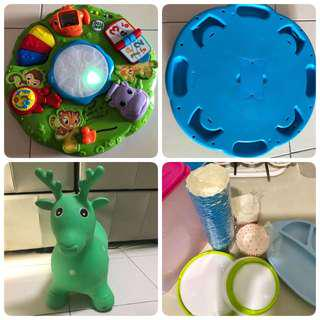 Bundle: Leap Frog/ Bouncey/ Gifts