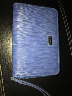 Spyderbilt clara medium wallet navy