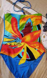 Coco cobana one piece colorful swimsuit