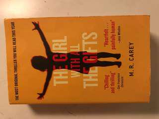 The girl with all the gift , english novel, book, books
