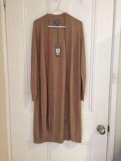 Sussan longline spring cardigan. New with tags. Size xs 8-10