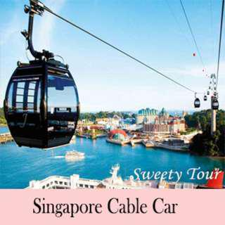 Singapore Cable Car Ride(Mount Faber Line & Sentosa Line)  E-ticket