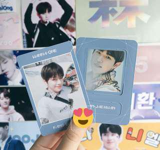 wts daniel photocard & jaehwan magnet - wanna one triple position album