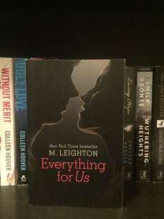 Everything For Us by M Leighton